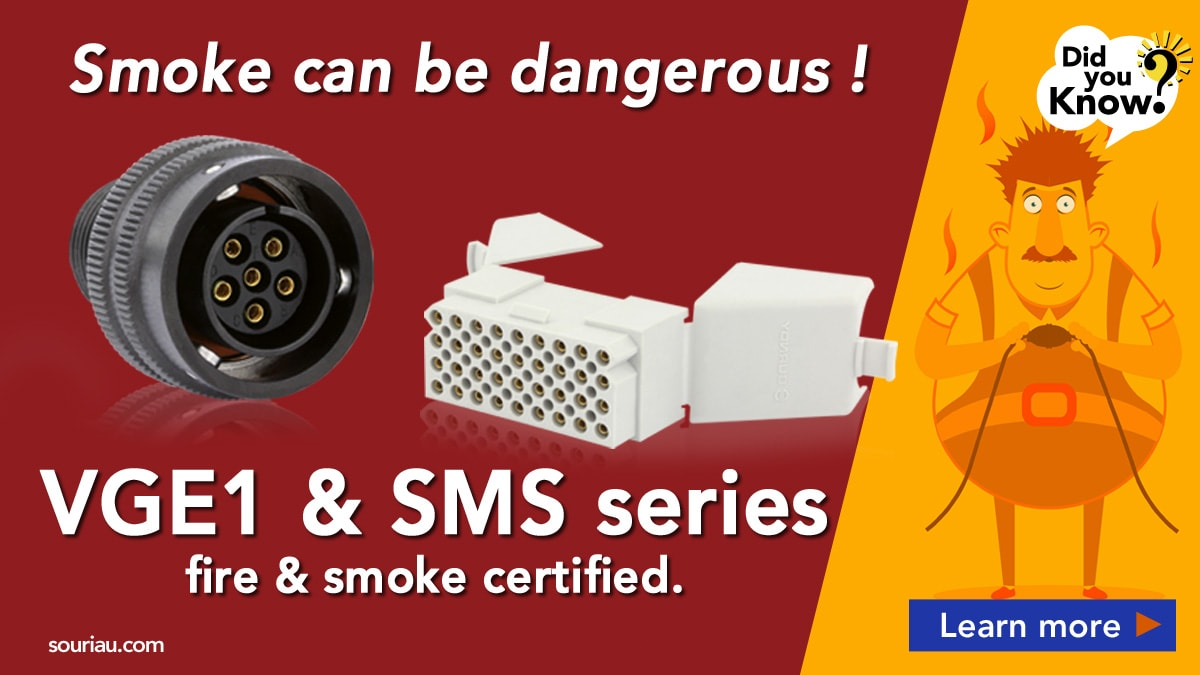 Fire & Smoke certified connectors