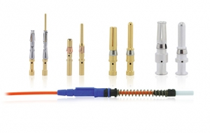 Industrial contacts for harsh environment connectors