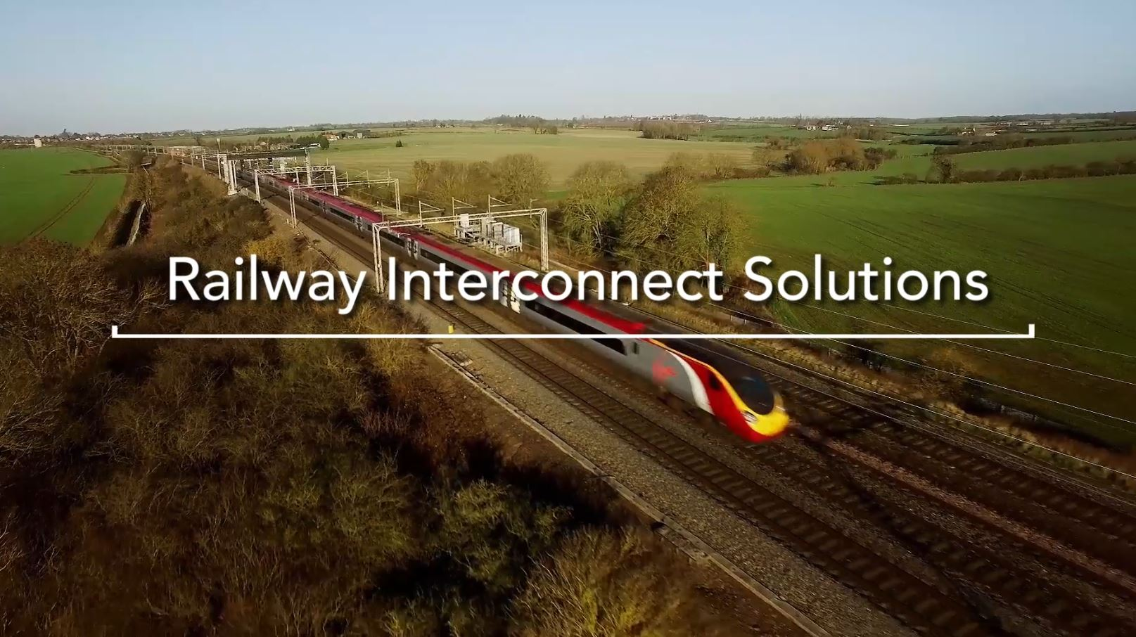 Railway connectors video